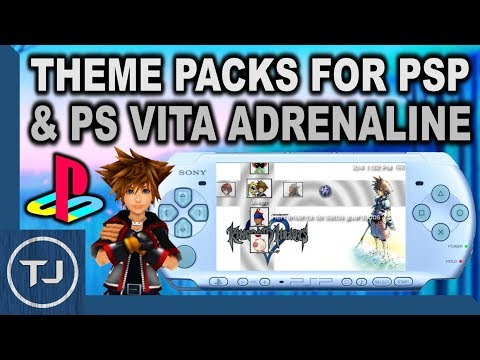 Official Theme Packs For PSP & PS Vita Adrenaline! (Download)
