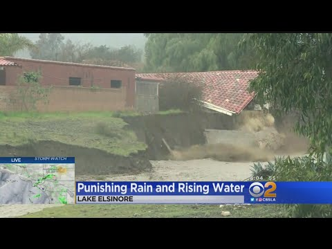 Fast-Flowing Creek Puts Lake Elsinore Homes At Risk Of Collapse – Los Angeles Alerts