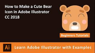 Learn How to Make a Cute Bear Icon in Adobe Illustrator