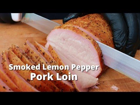 Smoked Lemon Pepper Pork Loin   Smoked Pork Loin Sandwiches On Yoder Pellet Grill