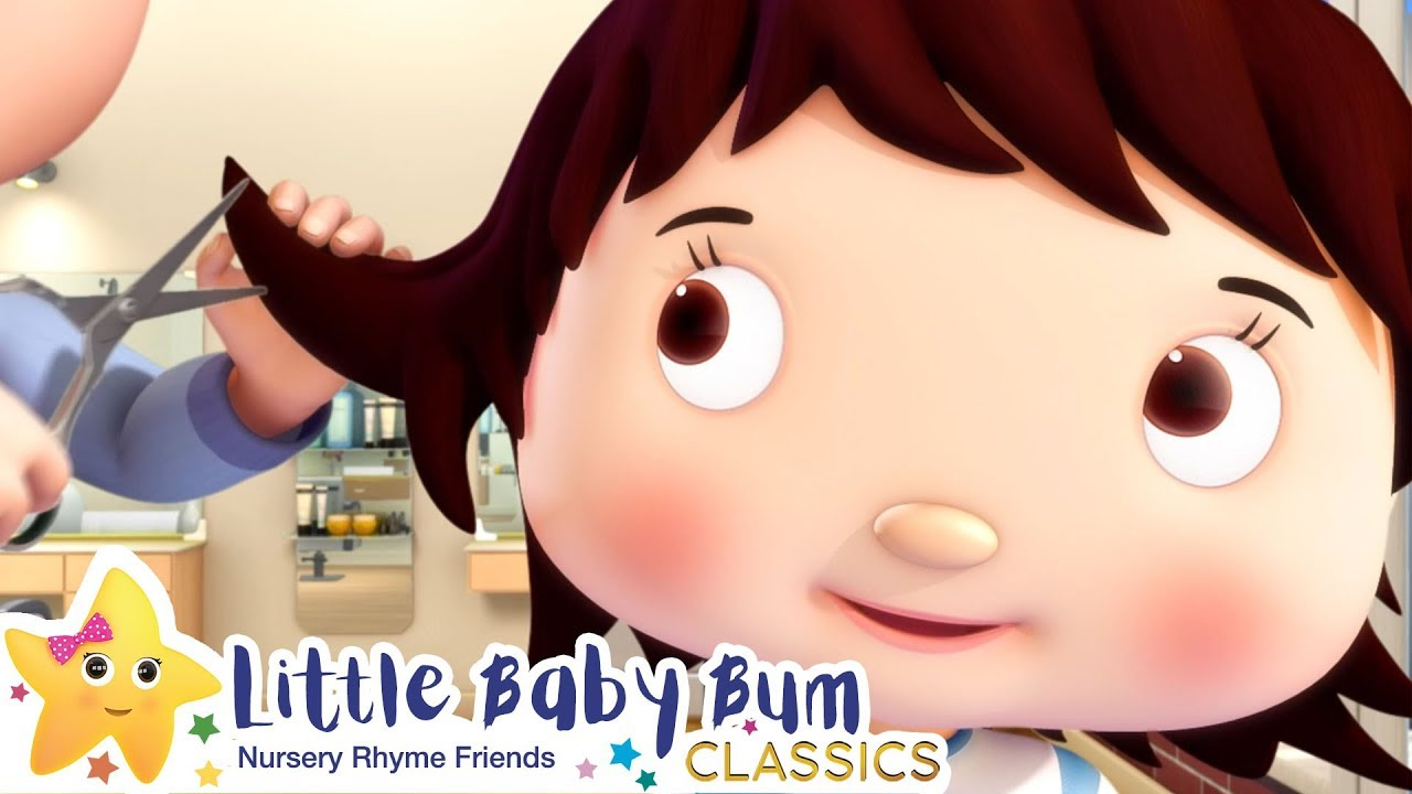 Getting a Haircut Song | Nursery Rhyme & Kids Song - ABCs and 123s | Little Baby Bum