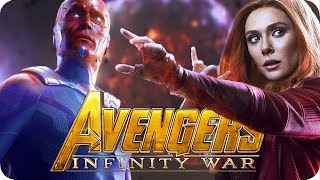 Avengers 3: Infinity War Movie Preview | What will happen to Scarlet Witch and Vision?