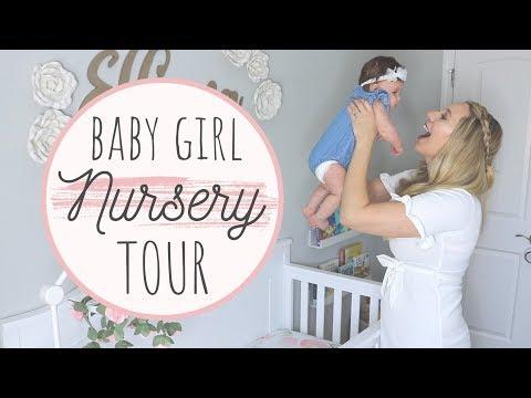 BABY GIRL NURSERY TOUR 2019 | Jessica Elle