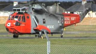 771 Sea King Take Off From Plymouth