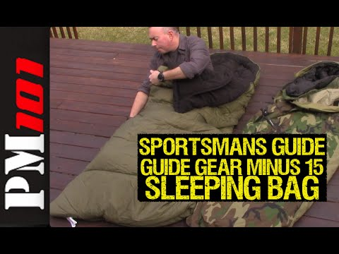 6 different kinds of sleeping bags you should really slip into.