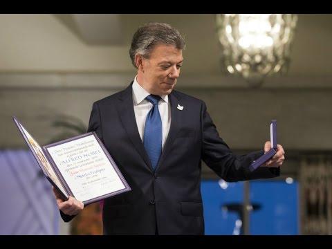 Juan Manuel Santos: Premio Nobel de Paz 2016