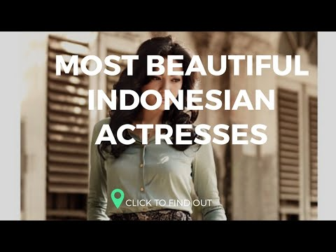 10 Most Beautiful Indonesian Actresses 2019
