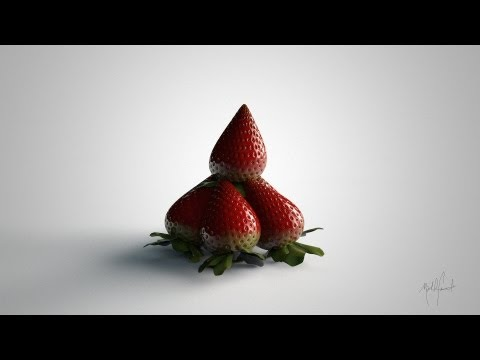 Cinema 4d: Realistic Strawberry Tutorial