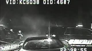 Dashcam footage shows suspect ramming sheriff