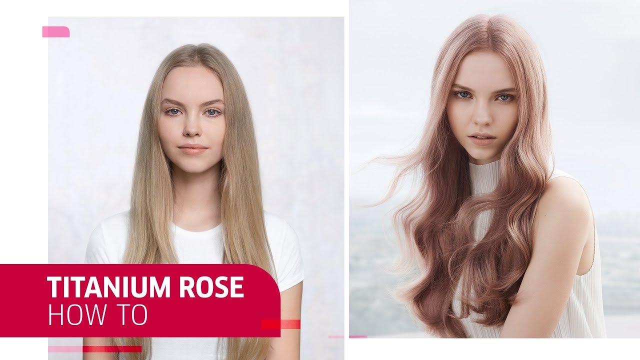 How to use opal essence by illumina color u titanium rose hair