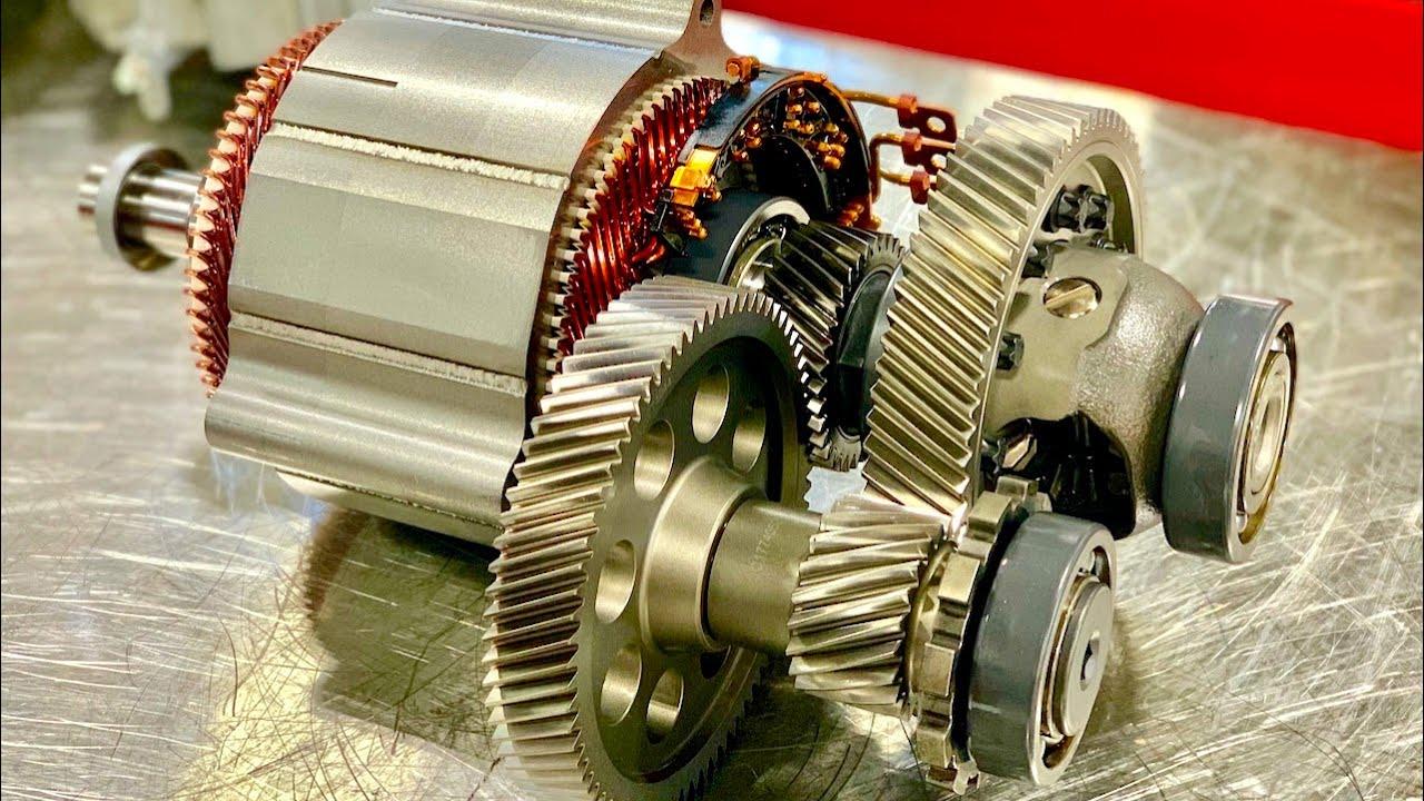 Traction motor - 2D Symbols - 3D Models