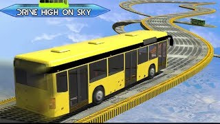 Impossible Tracks Bus Racing Coach Driving Game #Android GamePlay FHD #Bus Wala Game #Games Download