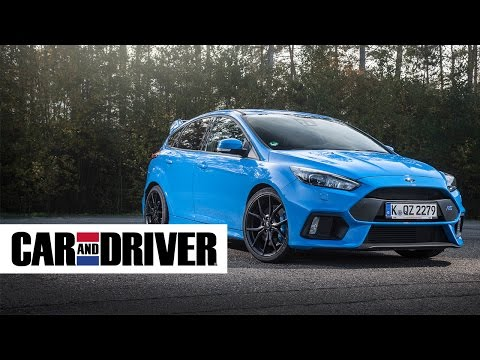 Ford Focus RS Review in 60 Seconds | Car and Driver