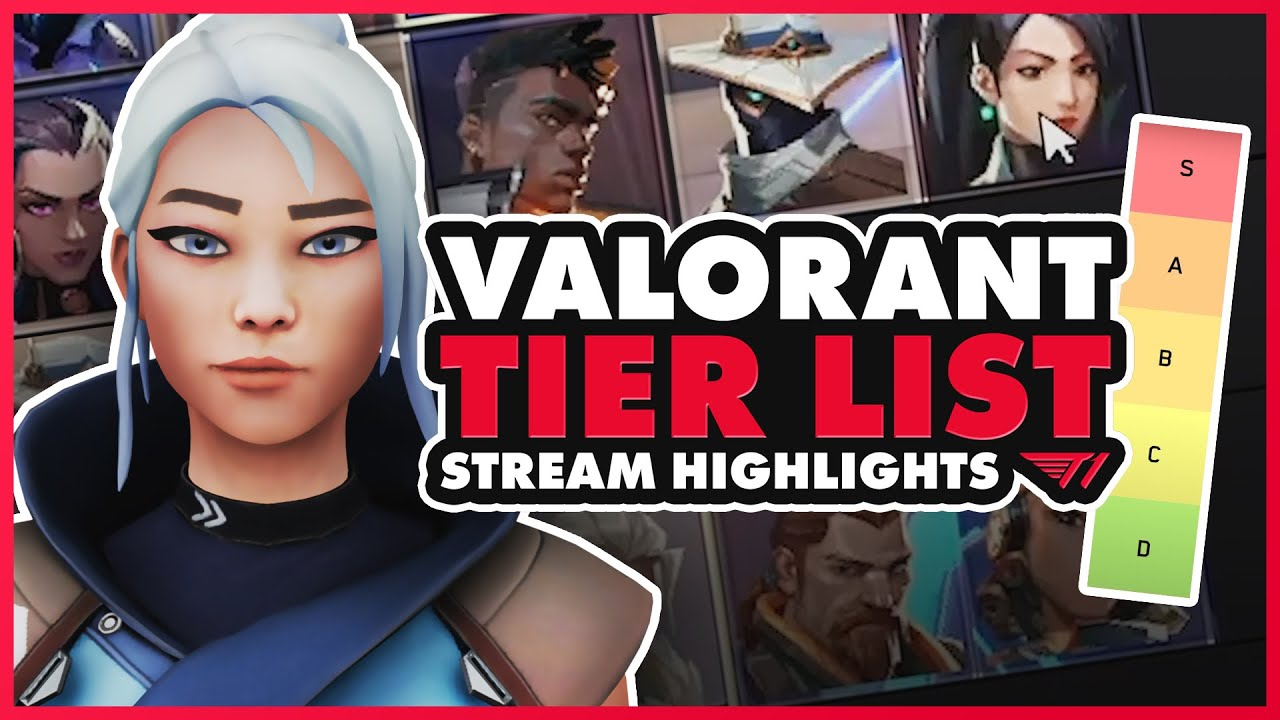 VALORANT All Agent Tier-List | Crashies and Food Rank Agents for Competitive