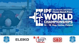 World Classic Bench Press Championships - Junior Men 93 - +120 kg