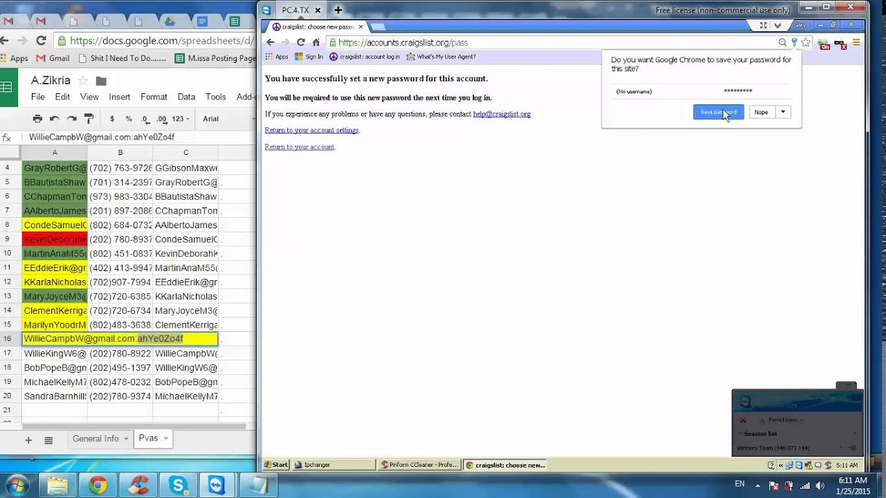 How to change A Main City in Craigslist Account - YouTube