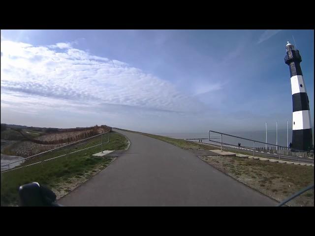 Fietsen in Zeeland - Panoramaweg Breskens naar Cadzand-Bad