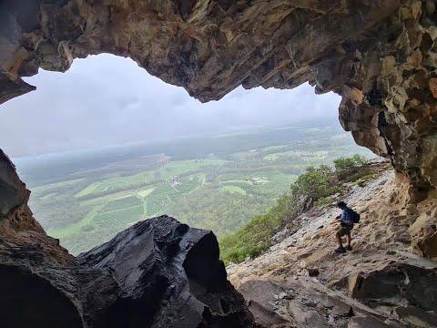 Mount Tibrogargan. Caves