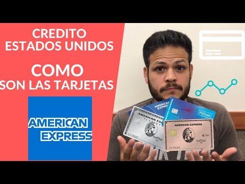 CREDITO ESTADOS UNIDOS || COMO SON LAS TARJETAS AMERICAN EXPRESS