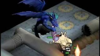 Blue Dragon Plus Boss Gameplay