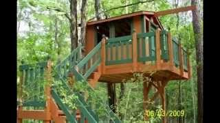 Mikeyboy's Treehouse Construction Pics_2009
