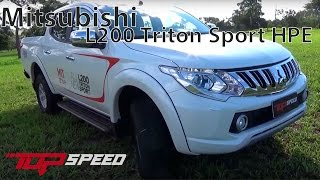Mitsubishi L200 Triton Sport HPE   Canal Top Speed