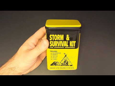 Tacoma Mountain Rescue Storm & Survival Kit