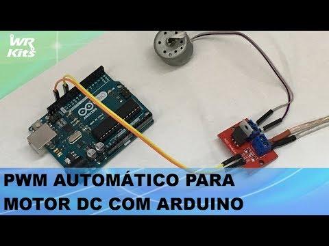 PWM AUTOMÁTICO PARA MOTOR DC COM ARDUINO