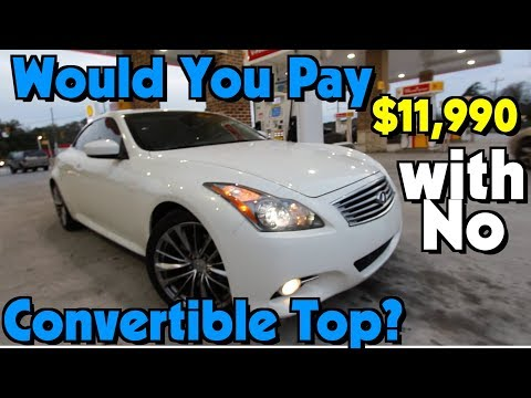 Here's a Infiniti G37 Coupe w/Hard Top Convertible | Auto Vlog Review & Test Drive