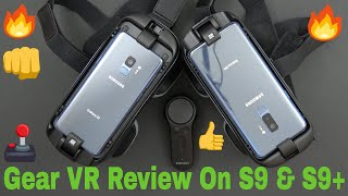 Samsung Gear VR With Controller Review And Game Play On The Galaxy S9 & S9+ 2018 Verizon