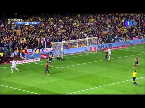 Real Madrid vs Barcelona 2-1 / Copa Del Rey Final  [04/16/2014]  2doTiempo