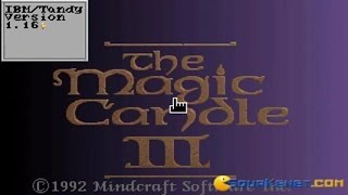 Magic Candle 3, The gameplay (PC Game, 1992)