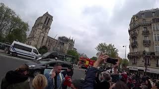 Нотр-Дам-де-Пари. На следующий день после пожара. Утро после трагедии в Париже