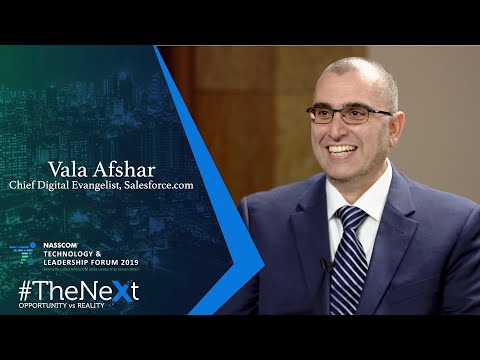 Vala Afshar Talks About Competing To Win In A Smart, Experience ...