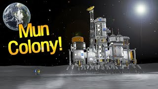 KSP: Sending a Colony to the Mun!