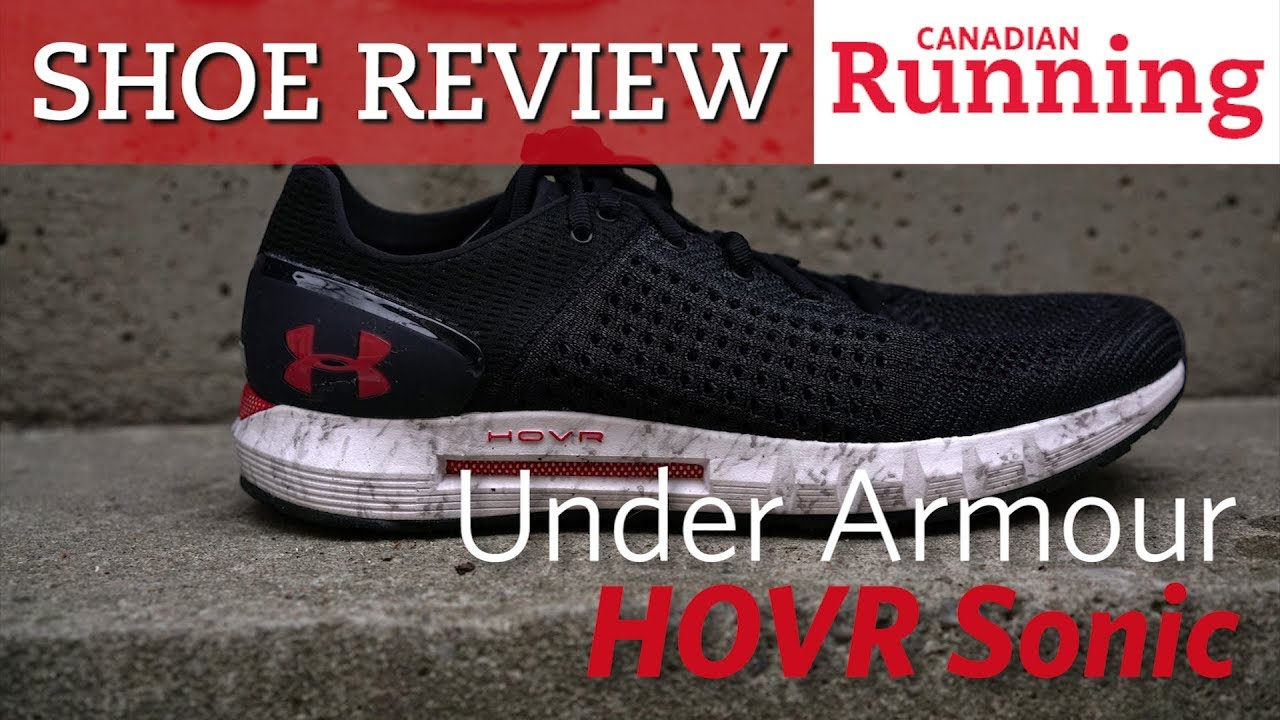 online store 08a83 46148 SHOE REVIEW: Under Armour HOVR Sonic