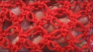 Соломонова петля Сrochet: Solomons knot