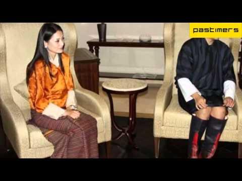 Bhutan's newly Married King Jigme Khesar Namgyal Wangchuk Visits India