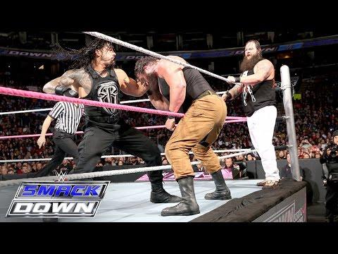 Roman Reigns & Randy Orton vs. Bray Wyatt & Braun Strowman: SmackDown, Oct. 8, 2015