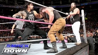 Roman Reigns & Randy Orton vs. Bray Wyatt & Braun Strowman: SmackDown, Oct. 8, 2015 thumbnail