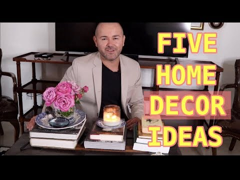 Summer Decorating  2019 / Easy Tips To Decorate Your Home ( 5 Quick Tips )