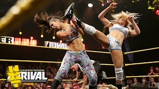 Nxt women's champion charlotte faces her toughest challenge yet, as she defends title against bayley, sasha banks and becky lynch in a fatal 4-way match....
