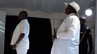 Teacher Mpamire Acting Ugandan President Yoweri Museveni