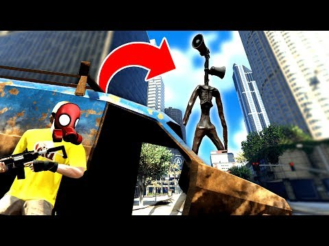 SIREN HEAD INVADES The CITY And CREATES THE APOCALYPSE - GTA 5 Mods Funny Gameplay