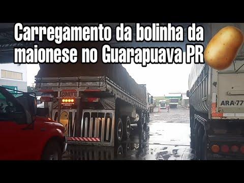 CARRREGAMENTO DA BOLINHA DA MAIONESE NO GUARAPUAVA