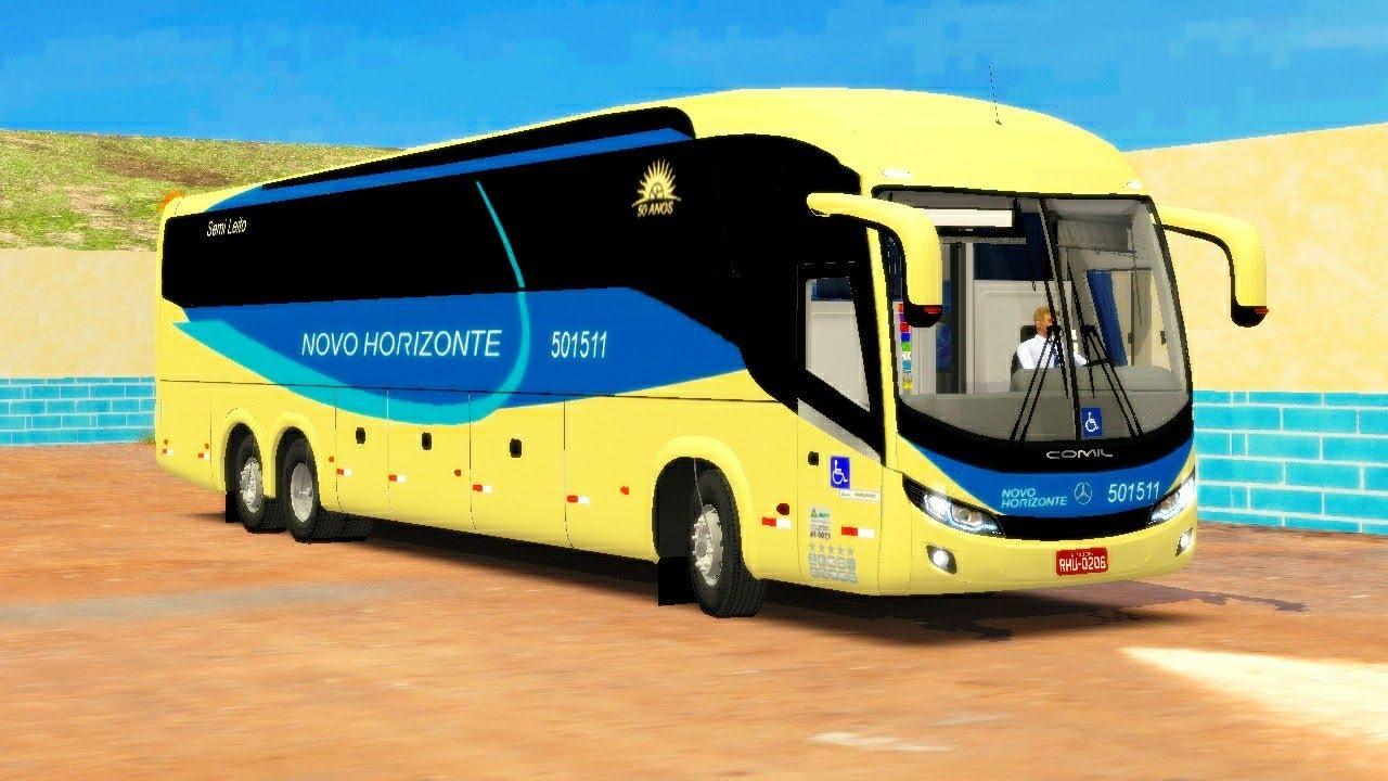 🔴[PROTON BUS ROAD] COMIL INVICTUS 1200 MB O500RSD BLUETEC 5 6x2 | MAPA SERRA BETA | Rolezin no mapa🤪 - YouTube