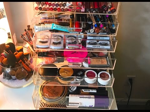 Beautify Acrylic makeup organizer | Amazon Acrylic Organizer | Makeup Organization