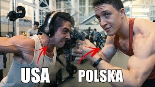 AMERYKANIN vs POLAK - KTO LEPIEJ POMPUJE?!