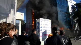 Пожар в Сочи 22.12.2015 #2