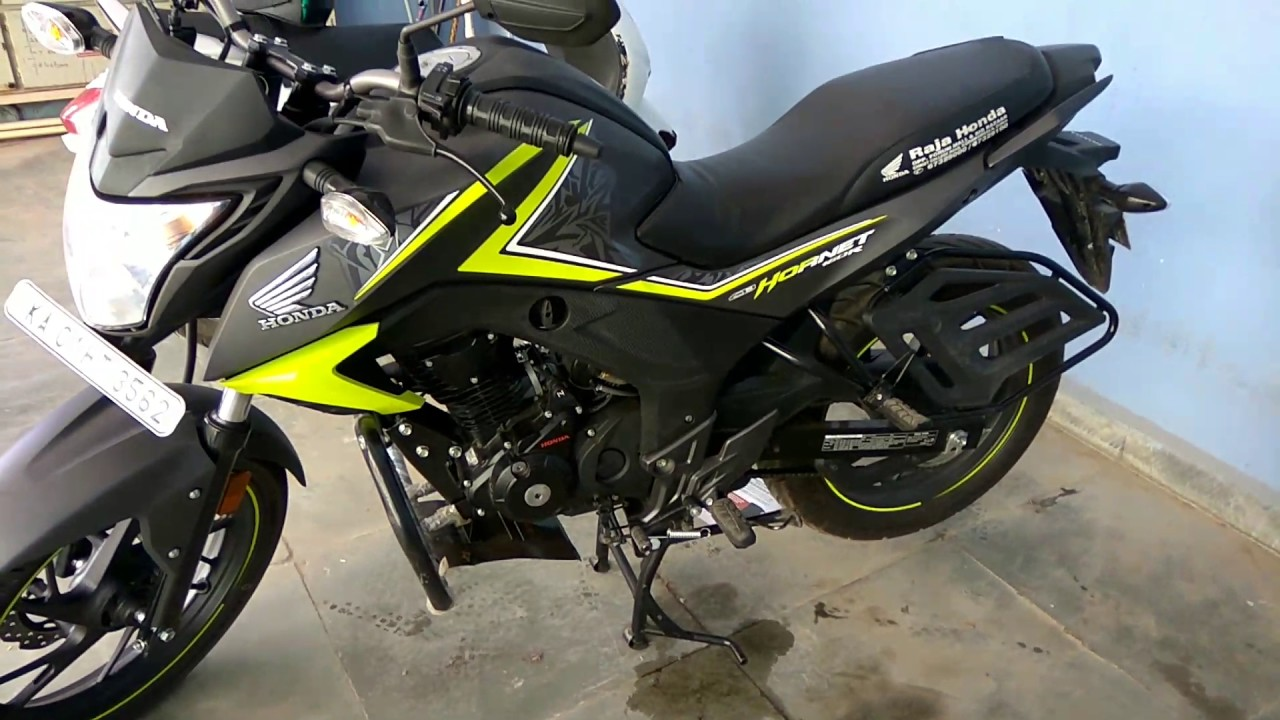 honda hornet cb160r special edition green color youtube. Black Bedroom Furniture Sets. Home Design Ideas